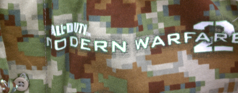 Modern Warfare Jammies.