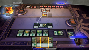 Duels of the Planeswalkers game screen.