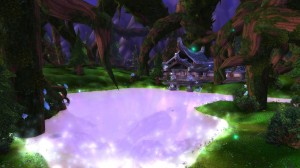 Picturesque Hyjal... but how long will it last?