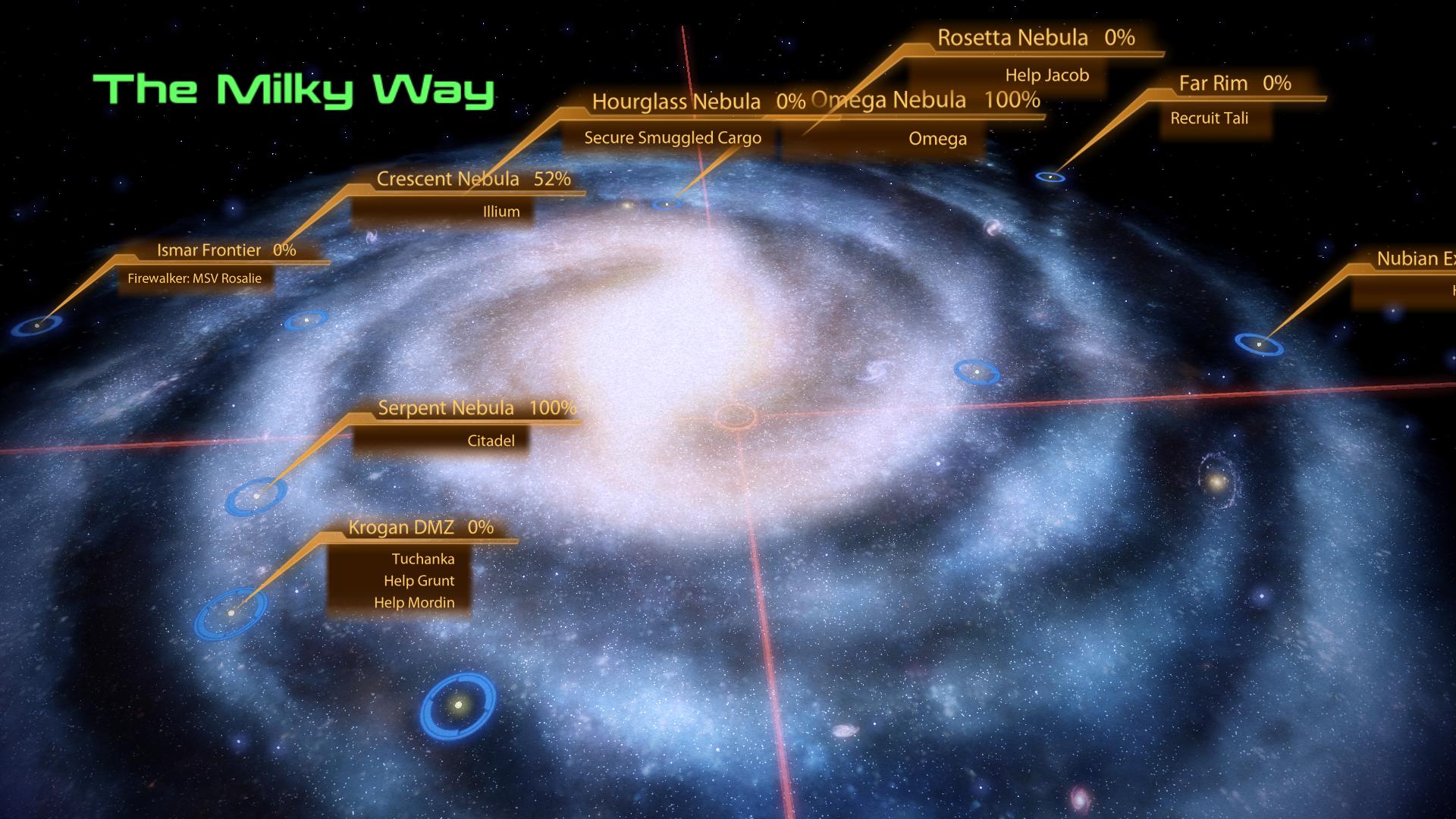 Mass Effect Star Map.Mass Effect 2 The Review Part 3 Nerdsworth Academy