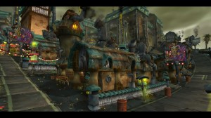 The goblin metropolis of Kezan.