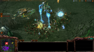The Zerg rely on superior numbers and a strong economy to overwhelm their foes.
