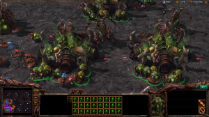 """Nothing says """"hive"""" like spawning several dozen zerglings at once."""