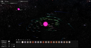 My little solar system is about to be disturbed as a new star approaches.