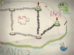 The world map is full of fun little drawings to add flavor.  Plus you can add your own.