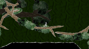 Several of the levels take place in high trees, which sway in the wind.  Careful: occasionally their branches will breach if you stand on them too.