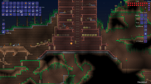 The Red Keep in Terraria took quite a bit of work.  Mostly because I tore down the stone version that was its predecessor.