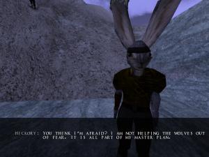 Hickory tells of his traitorous plot.