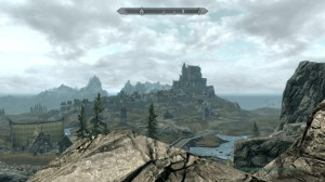 Whiterun in the distance.