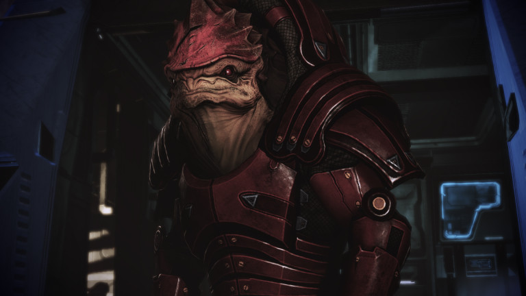 Not actually a battletoad, but a Krogan.