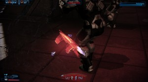 Stealth melee attack.