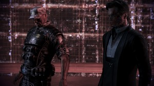Admiral Anderson wants to destroy the Reapers. The Illusive Man believes he can control them.