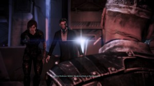 Anderson resists the indoctrination, but Shepard cannot, and is compelled to shoot him.