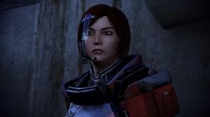 Commander Shepard steeels herself for the final battle.