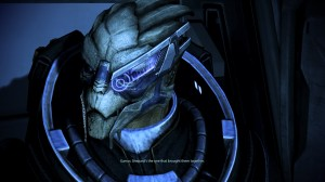 Garrus is just as confused about the canon endings as I am.