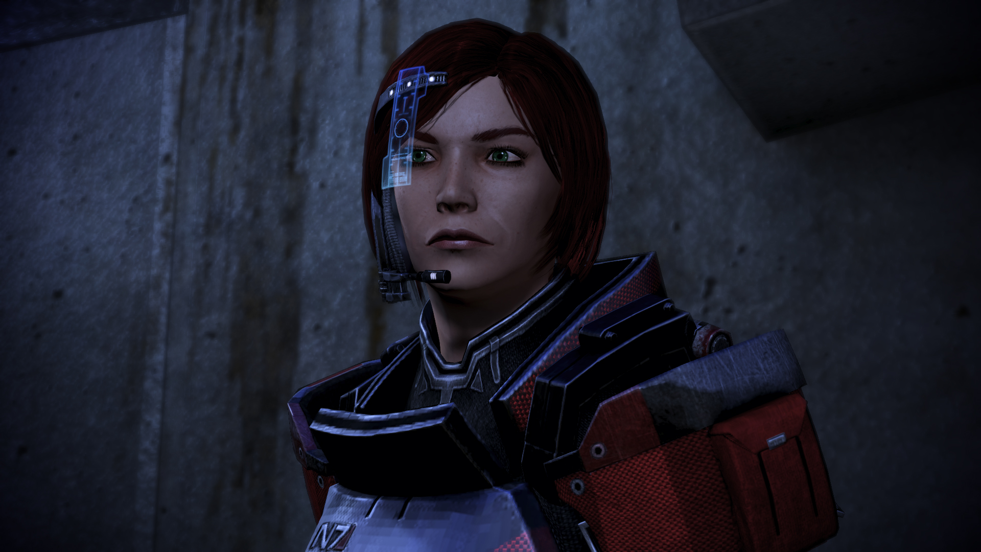 Clover Shepard, contemplating how her story ends.