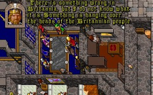 The plot thickens in Ultima VII: The Black Gate.