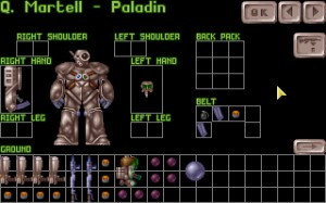 You could store ammo on your kneecaps in the original X-COM if you wanted to