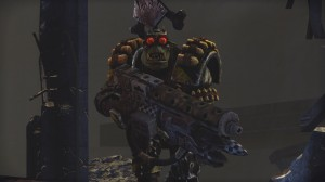 Orks are definitely my favorite critters from the Warhammer 40,000 universe. Every time one exploded in the single-player campaign, I wept a single tear. I often ended my play sessions dehydrated.