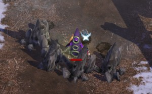 Stone walls can be conjured to keep enemies at bay while you prepare additional spells.