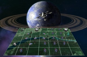 Planetary invasions are mostly automated and victory involves sending more troops than the other guy.