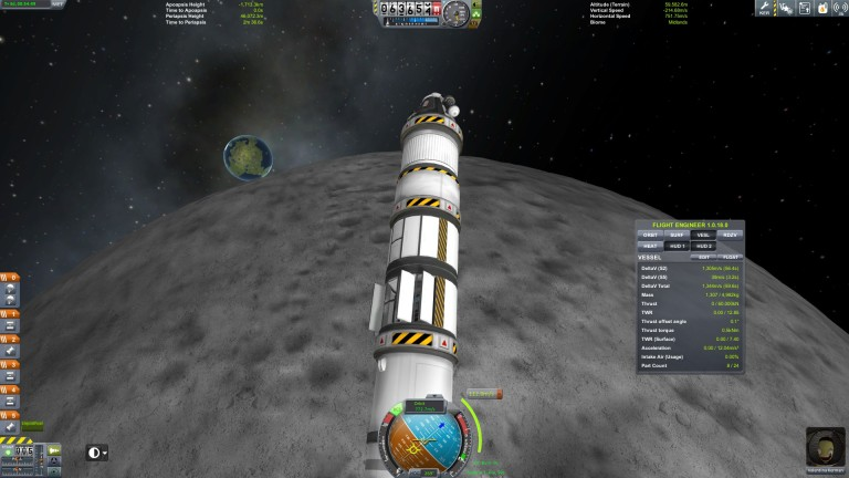 The Confusador approaches the Mun!