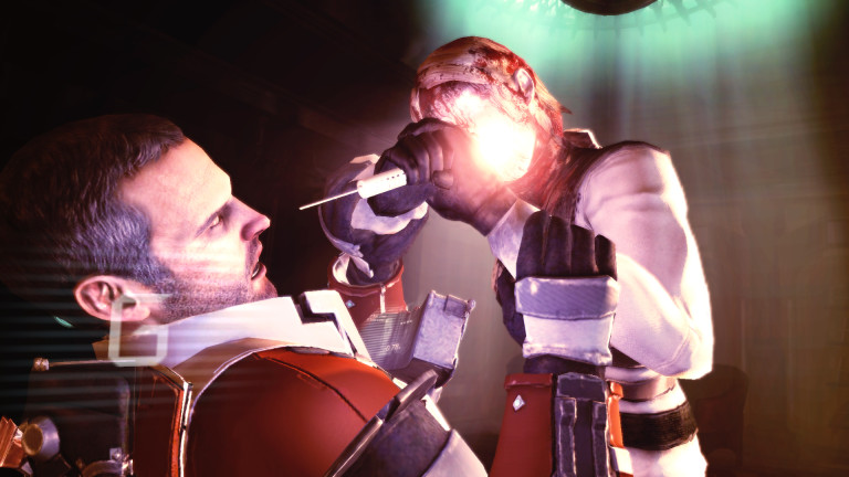 Isaac Clark wrestles with Necromorphs and his own demons in Dead Space 2.