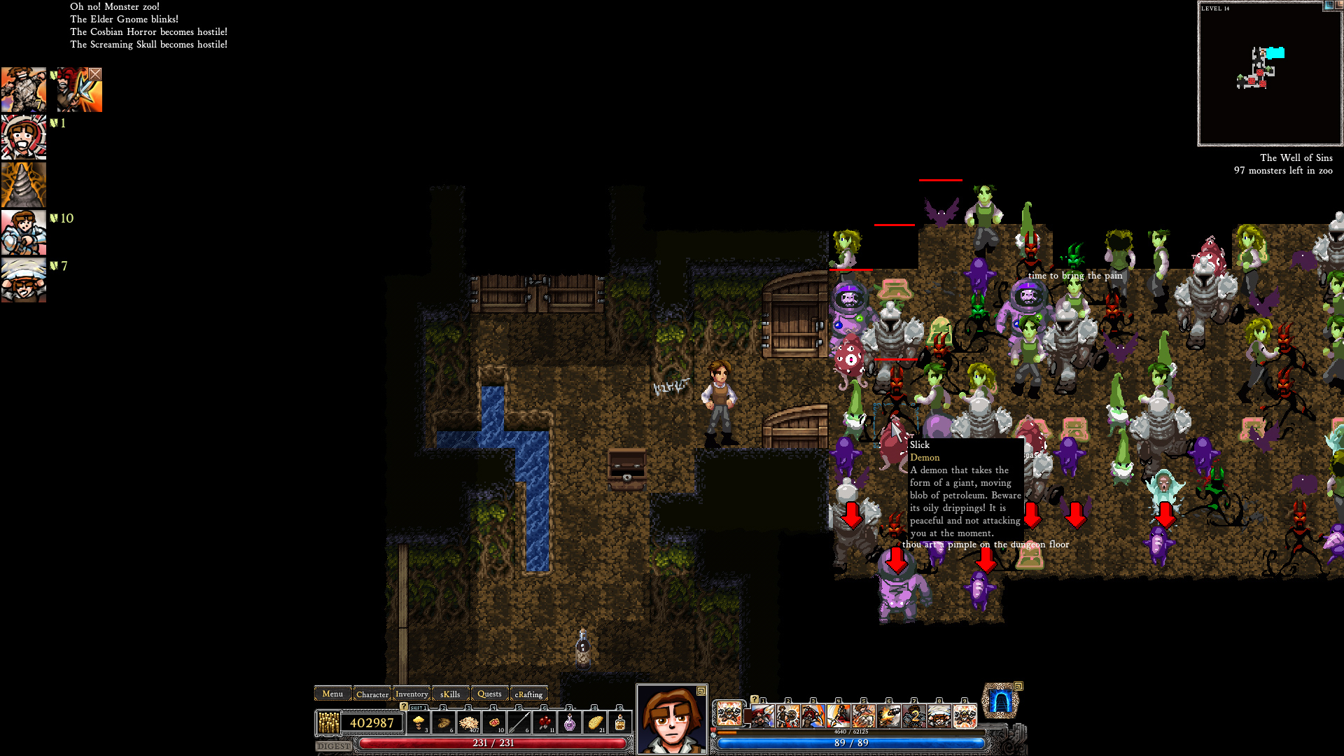 Dungeons of Dredmor | Builds of Fail and Victory