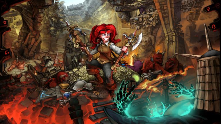 Dungeons of Dredmor victory screen.