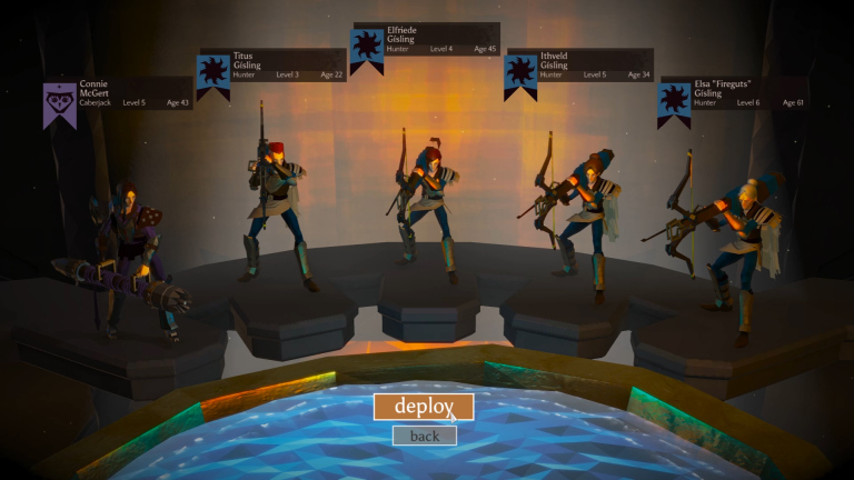 The Four Hunters of the Apocalypse (and a Caber)