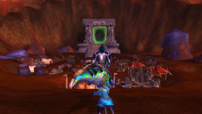 Nerdsworth, the troll berserker, approaches Outland!
